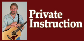 Private Instruction in: